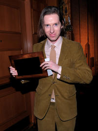 Wes Anderson at the 35th Annual Los Angeles Film Critics Association Awards in California.