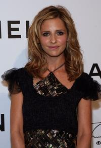 Sarah Michelle Gellar at the CHANEL and P.S. ARTS Party.