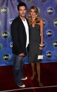 Eddie Cibrian and his wife Brandi Glanville at the ABC TCA party.