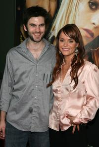 Wes Bentley and Taryn Manning at the premiere of