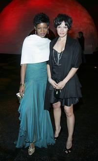 Caroline Chikezie and Yangzom Brauen at the after party of