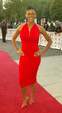 Caroline Chikezie at the Mobo Awards 2004.
