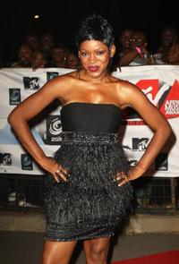 Caroline Chikezie at the MTV Africa Music Awards 2008.