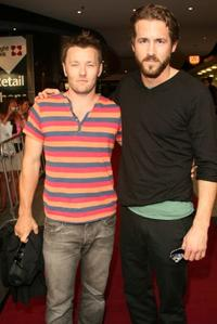 Joel Edgerton and Ryan Reynolds at the Sydney screening of