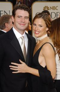 Scott Foley and Jennifer Garner at the 60th Annual Golden Globe Awards.