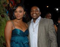 Sharon Leal and Mekhi Phifer at the premiere of