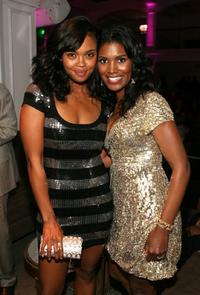 Sharon Leal and Denise Boutte at the premiere of