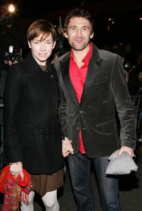 Julianne Nicholson and Jonathan Cake at the opening night of