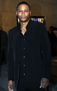 David Ramsey at the California premiere
