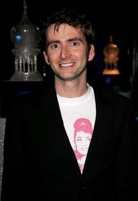 David Tennant at the world premiere party of