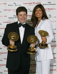 Sean Astin and Alison Heruth-Waterbury at the 30th Annual Saturn Awards.