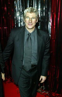 "Richard Gere at the ""Chicago"" film party in London."