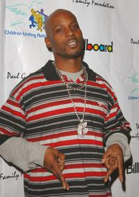 DMX at the CUN, Children's United Nations, Academy Awards celebration dinner and after party.