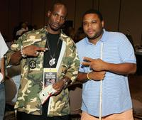 DMX and Anthony Anderson at the International Pool Tour World 8-Ball Championship.