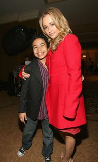 Noah Gray-Cabey and Hayden Panattiere at the NBC's Winter Press Tour All-Star Party.