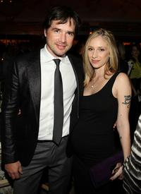 Matthew Settle and Naama Settle at the 2008 Tribeca Film Institute Fall Benefit after party of