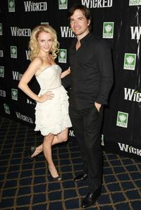 Kate Reinders and Matthew Settle at the 5th Anniversary of