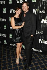 Shoshana Bean and Matthew Settle at the 5th Anniversary of