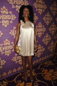 Tasha Smith at the HBO Emmy after party.