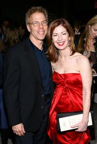 Greg Germann and Dana Delany at the 2008 New York Stage and Film Gala.