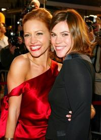 Kadee Strickland and Clea Duvall at the premiere of