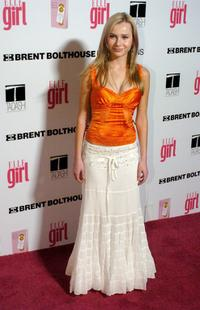 Mika Boorem at the First Annual ELLEGIRL Hollywood Prom party.