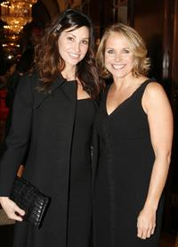 Gina Gershon and Katie Couric at the Project A.L.S