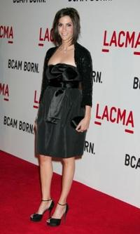 Jami Gertz at the Broad Contemporary Art Museum opening at LACMA.