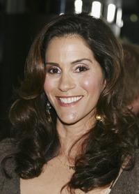 Jami Gertz at the premiere of