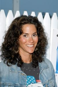 Jami Gertz at the Playboy Beauty Party at Tavern in Bridgehampton.