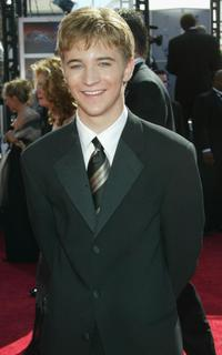 Michael Welch at the 56th Annual Primetime Emmy Awards.