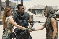 Ali Larter, Oded Fehr and Milla Jovovich in