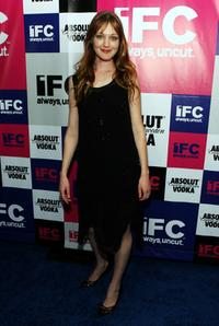 Azura Skye at the IFC party celebrating the spirit of independent film.