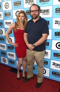 Katheryn Winnick and Paul Giamatti at the California premiere of