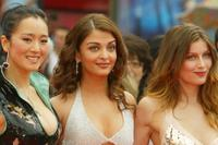 Gong Li, Aishwarya Rai and Laetitia Casta at the screening of