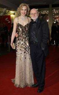 Juliane Kohler and Director Guenter Rohrbach at the premiere of