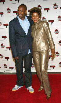 David Chappelle and Marla Gibbs at the Comedy Central's First Ever Awards Show