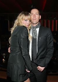 Kimberley Gorden and Michael Polish at the after party of