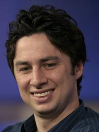 Zach Braff at the Television Critics Association Press Tour.