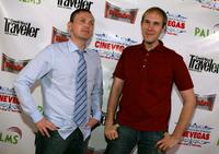 Pat Healy and Craig Zobel at the CineVegas Film Festival.