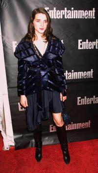 Michele Hicks at the Entertainment Weekly Academy Awards Viewing party.
