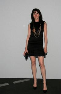Michele Hicks at the 2007 / 2008 Chanel Cruise Show.