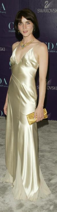 Michele Hicks at the 2004 CFDA Fashion Awards.