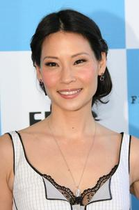 Lucy Liu at the Film Independent's 2007 Spirit Awards.