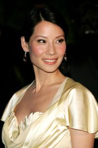 Lucy Liu at the 2007 Vanity Fair Oscar Party.