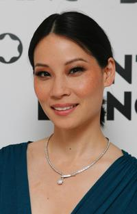 Lucy Liu at the Montblanc Night Of The Stars Gala.