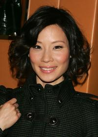 Lucy Liu at the Tod's Fall/ Winter 2007 Collection.
