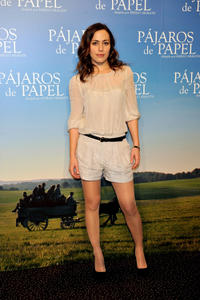 Irene Montala at the Spain premiere of