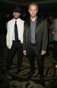 Wilson Jermaine Heredia and Adam Pascal at the National Multiple Sclerosis Societies 32nd Annual Dinner of Champions.