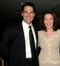 Thomas Gibson and Guest at the VIP Reception during the 14th Annual Diversity Awards Gala.
